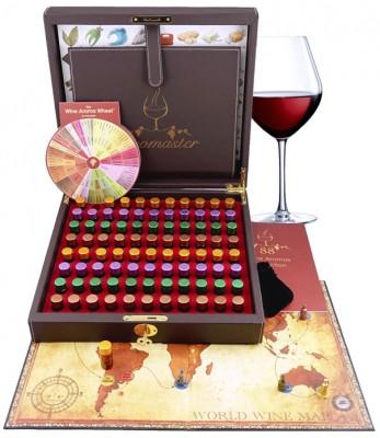 Master Sommelier Wine Aroma Kit - 88 wine aromas
